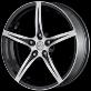 "Felga aluminiowa TSW Shadow 6,5""x15"" 5x000 ET-35"
